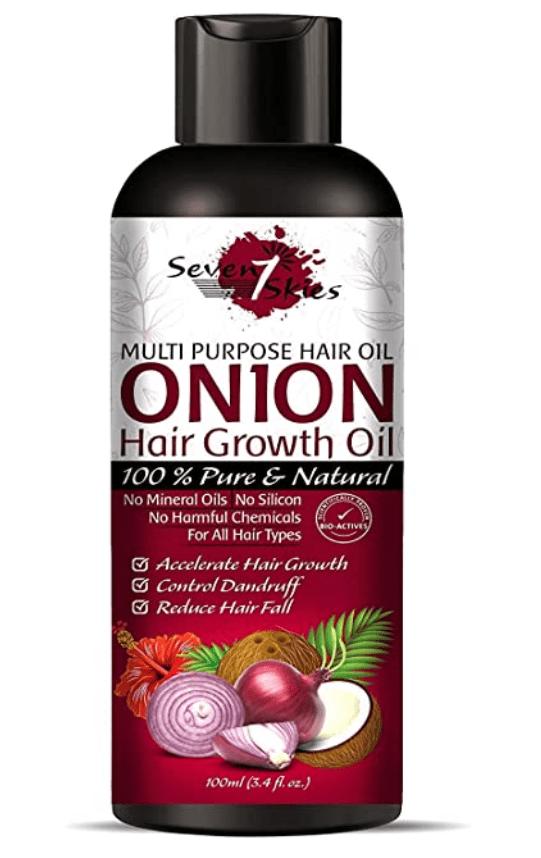 blend of nourishing oils such as Almond, Castor, Jojoba, Olive & Coconut Oils. etc. makes hair strong from the inside & shinier on the outside.