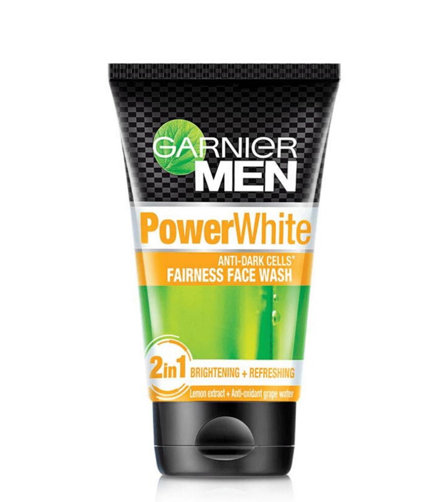 men face wash