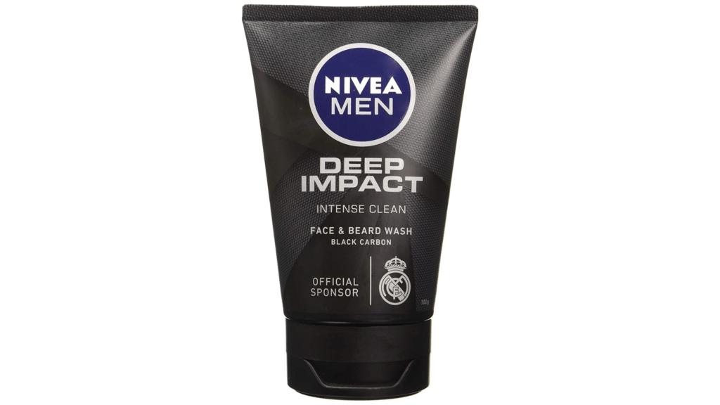 nivea men deep impact instant clear face wash
