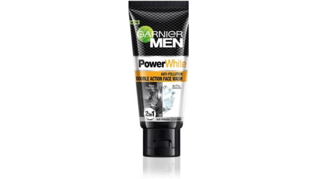 Garnier power white best men face wash       for men