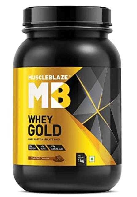 best protein powder in india  MuscleBlaze Whey Gold Protein powder