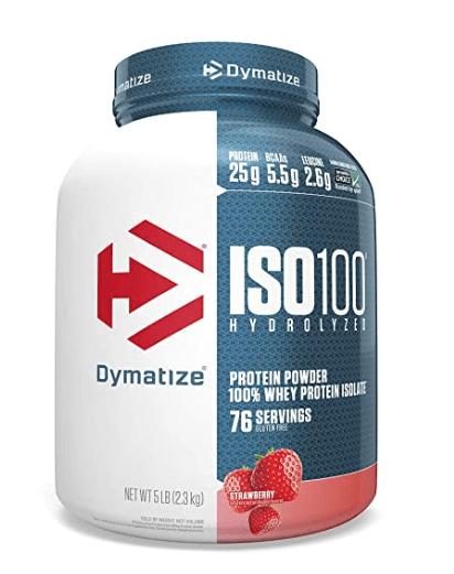 Dymatize Nutrition ISO 100 5 lbs Whey Protein Powder