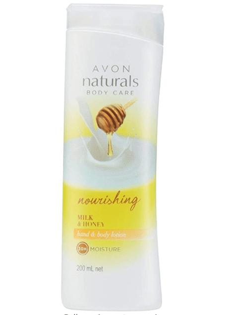 Avon natural milk and honey body lotion