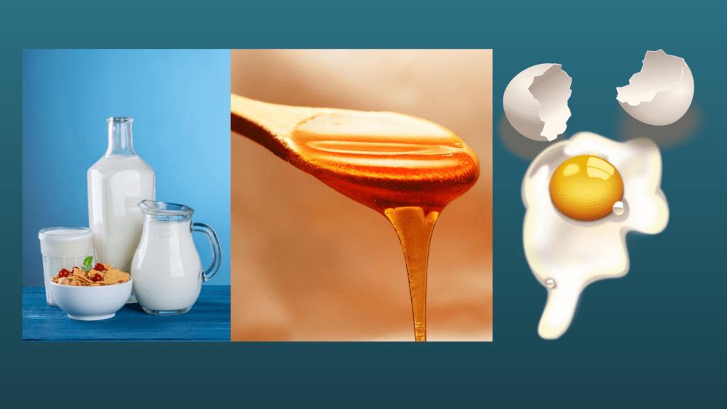 milk+honey+egg combo skin toner