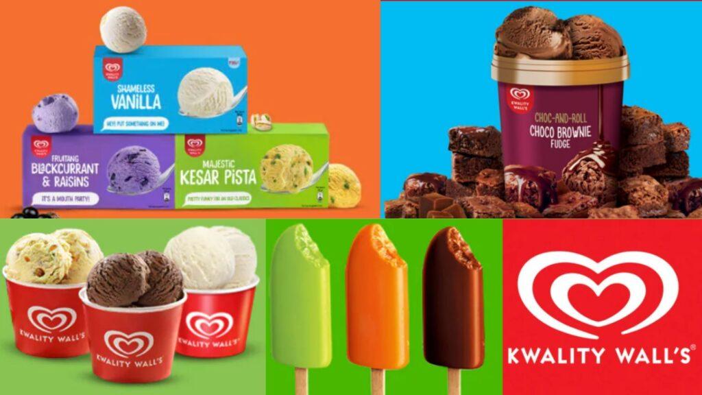 Kwality wall's ice cream brand under hindustan unilever