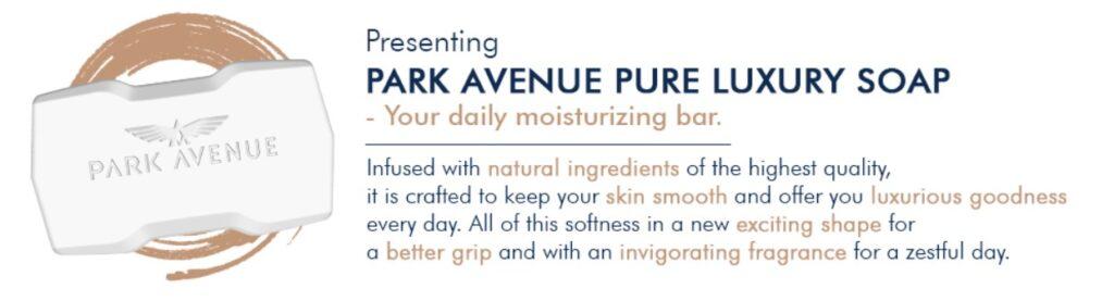 Park avenue soap is the best soap for winter for men