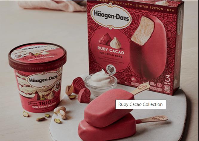 Haagen-Dazs a prenium ice cream brand in India