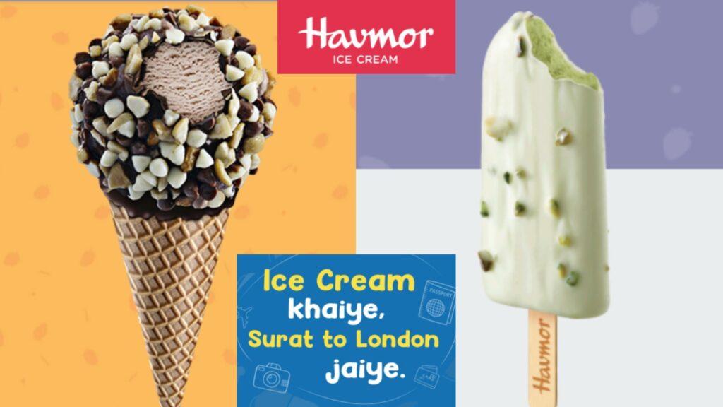 Havmor ice creams