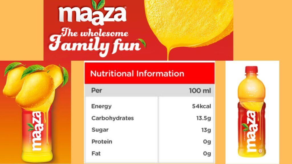 Maaza the pure taste of mango