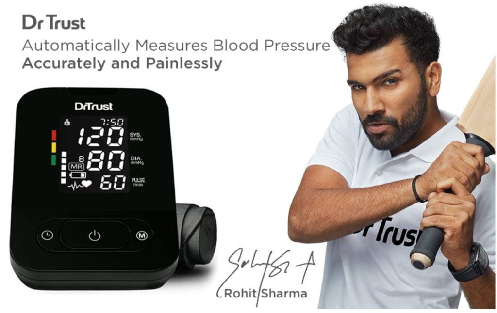 Dr trust blood pressure measuring machine