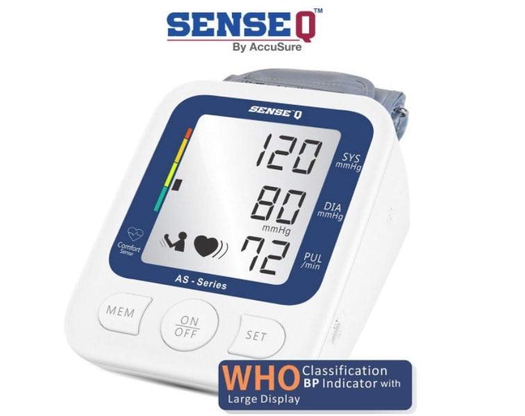 best blood pressure machine at lowest price from SenseQ brand
