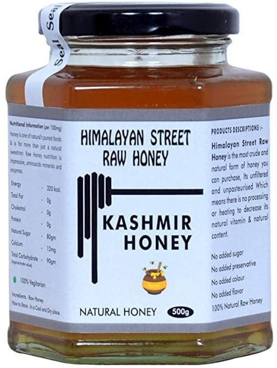 100% Natural Organic Quality Unprocessed Raw Acacia Kashmir Honey
