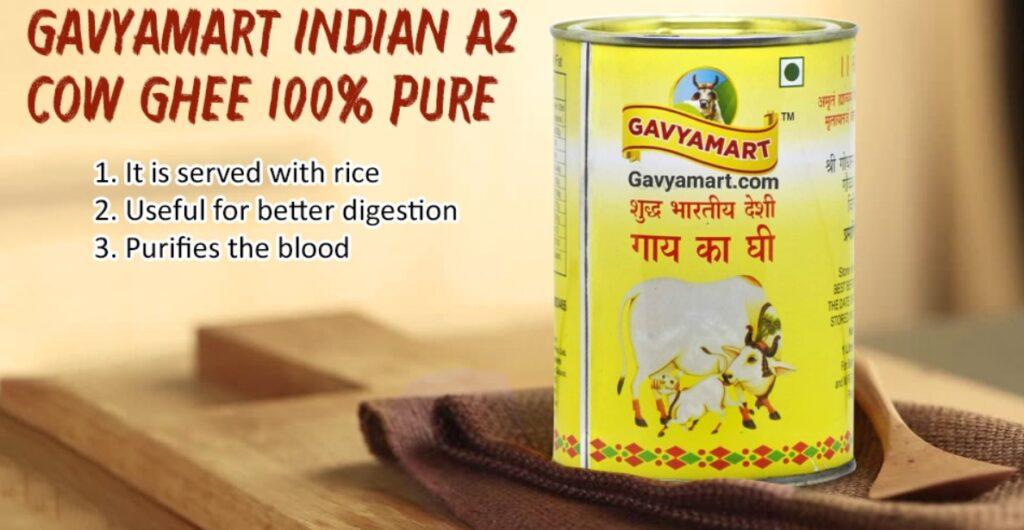 Best Indian A2 cow ghee
