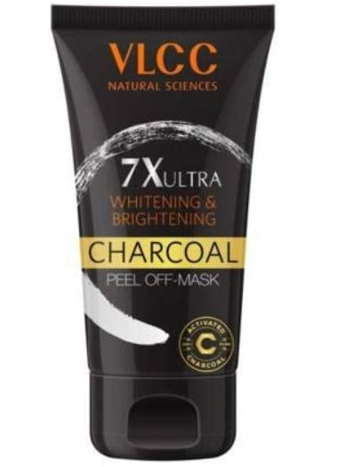VLCC 7X Ultra Whitening and Brightening Charcoal Peel Off Mask