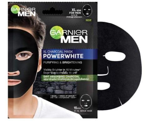 Garnier Men PowerWhite XL Charcoal Mask