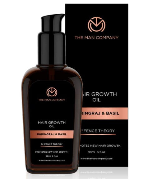 The men company hair growth oil for men