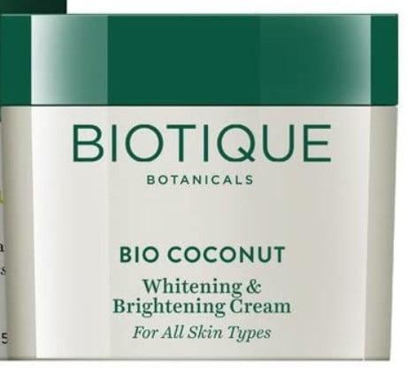 biotique skin whitening cream