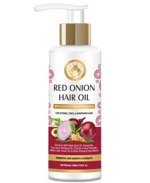 Mom & World Red Onion Hair Oil