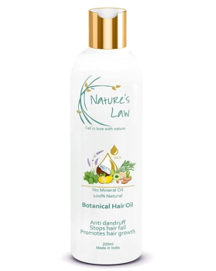 nature's law botanical hair growth oil