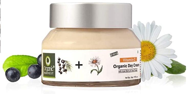 Organic Harvest Skin Illuminate Vitamin C Day Cream for Whitening & Brightening Skin