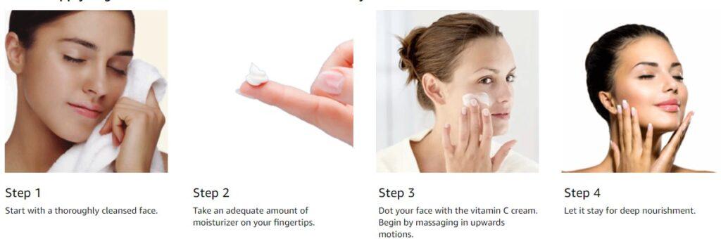 How to Apply Organic Harvest Skin Illuminate Vitamin C Day Cream