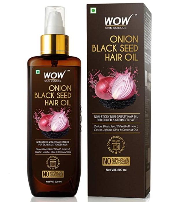 wow onion hair oil for hair growth