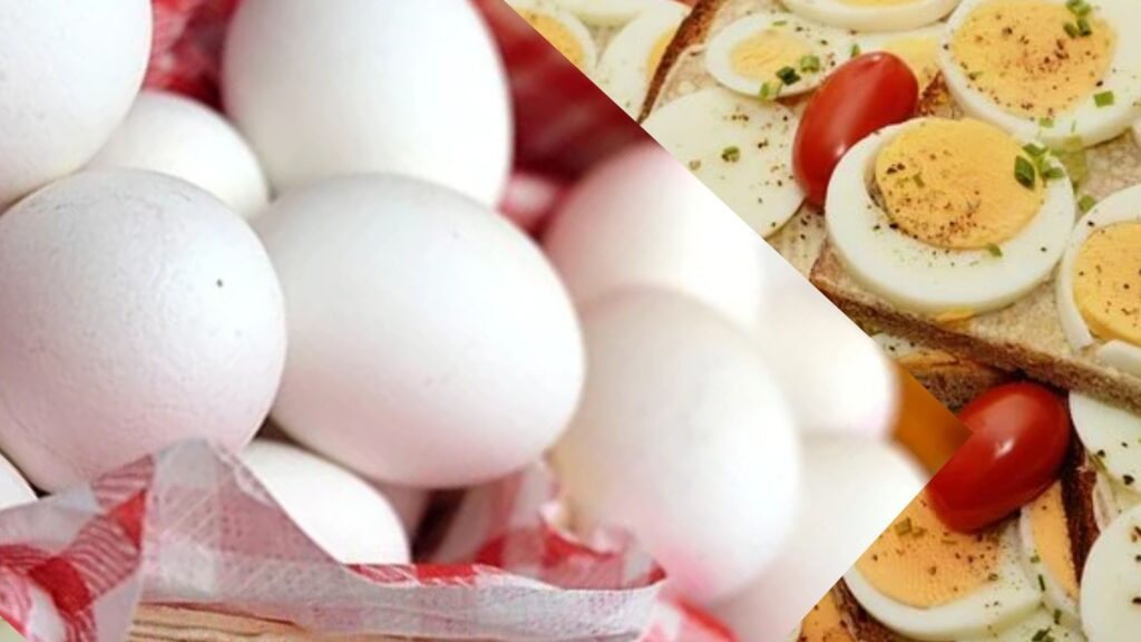 Boiled egg as a healthy evening snacks