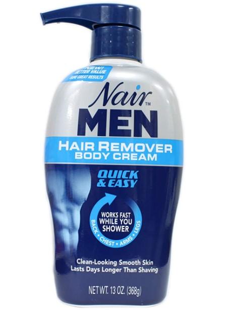 nair hair removal cream for men