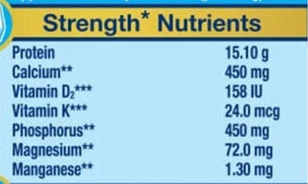 Strengthen nutrients in ensure