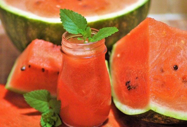 watermelon juice for summer