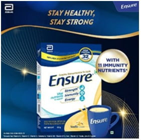 Ensure health supplement for adult