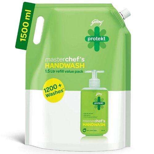 Godrej Protekt Masterchef's Germ Protection Liquid Handwash