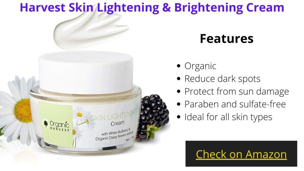 Best Organic skin lightening cream