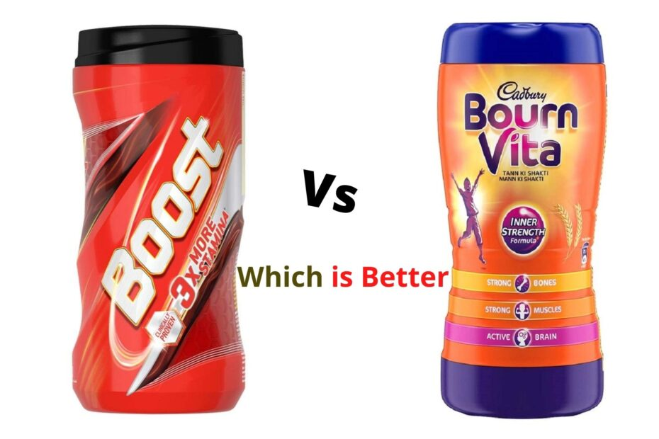 Boost Vs Bournvita Which is Better Health Drink