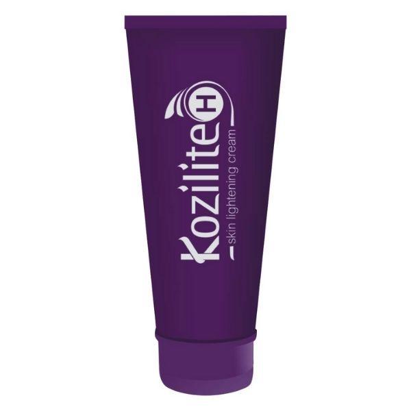 Kozilite-H skin lightening cream for hyper pigmentation.
