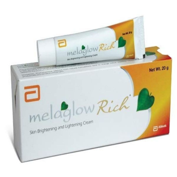 Melaglow rich skin whitening cream