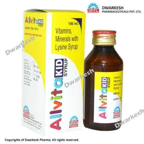 allvita kids multivitamin syrup