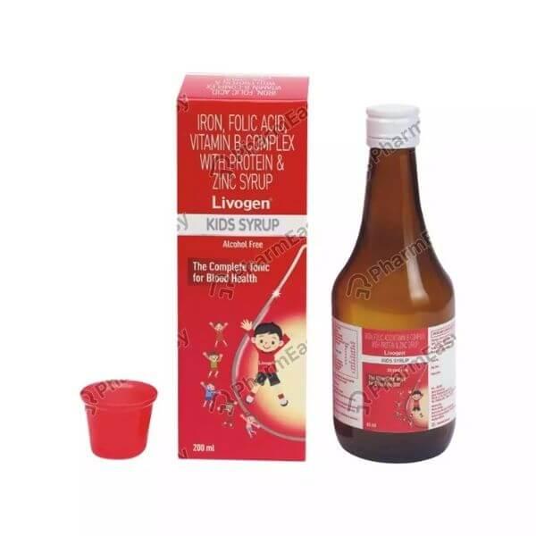livogen kids multivitamin syrup